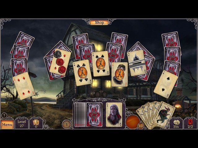 Screenshot  «Jewel Match: Twilight Solitaire» № 2