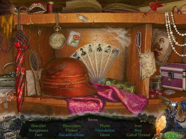 Screenshot  «Mystery Castle: The Mirror's Secret» № 2