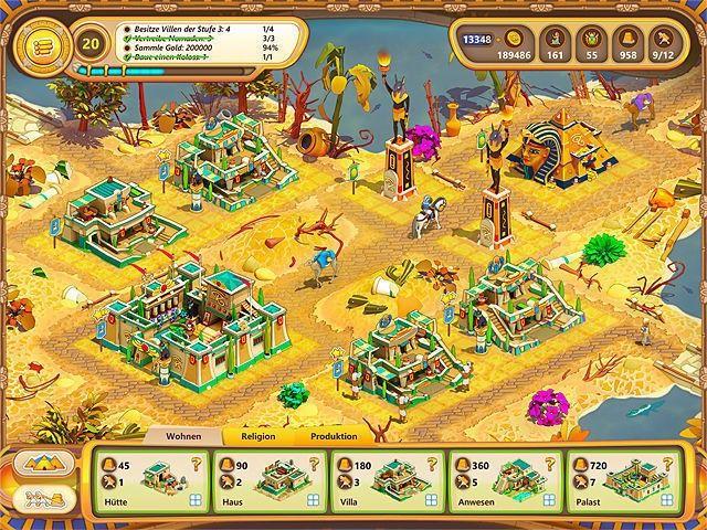 Screenshot  «Ramses: Aufstieg eines Imperiums. Sammleredition» № 1