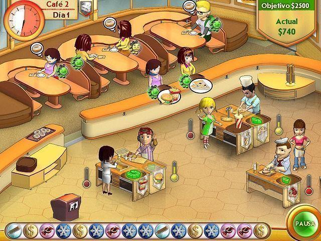 Amelie's Cafe en Español game