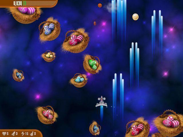 Chicken Invaders 3: Revenge of the Yolk Easter Edition en Español game