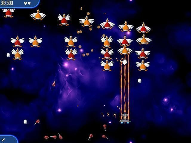 Chicken Invaders: The Next Wave en Español game
