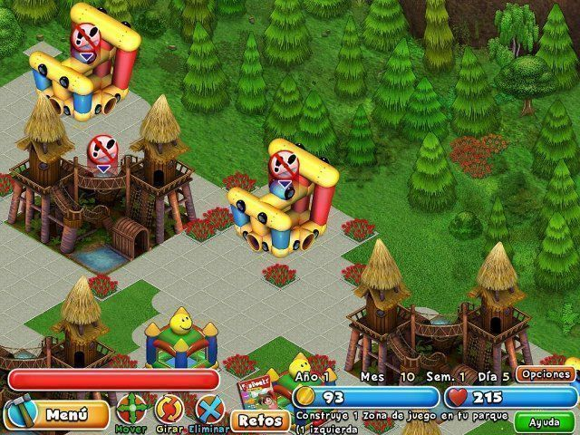 Dream Builder: Parque de Atracciones en Español game