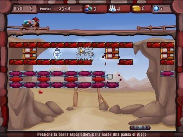 Hada Arkanoid en Español game