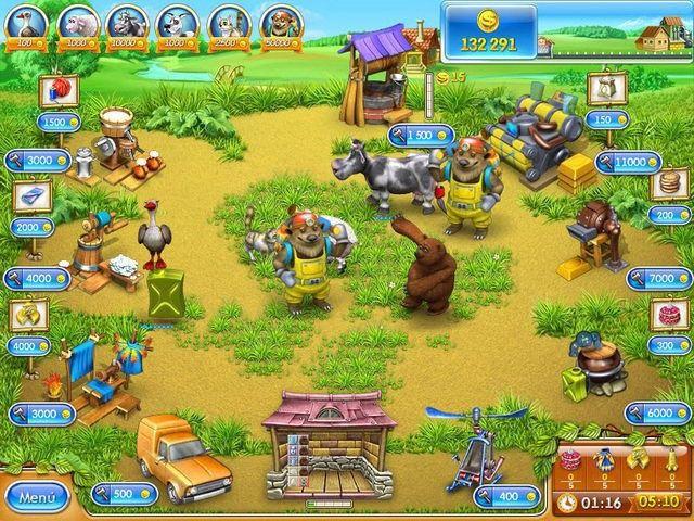 Farm Frenzy 3: La ruleta rusa en Español game