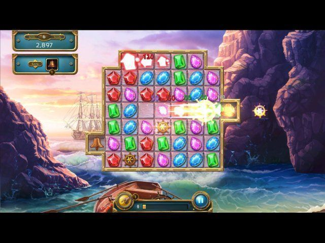 Jewel Quest: Seven Seas. Collector's Edition en Español game