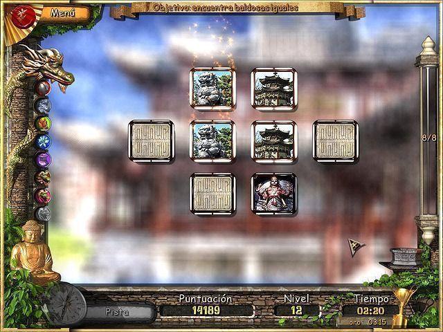 Sueños Orientales en Español game