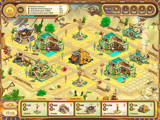 Ramses: Rise of Empire en Español game