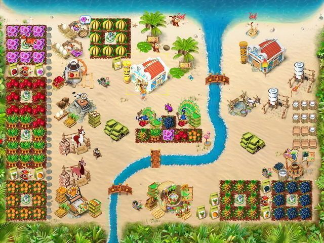 Ranch Rush 2 – Sara's Island Experiment en Español game