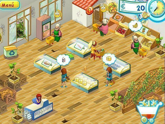 Supermarket Mania en Español game