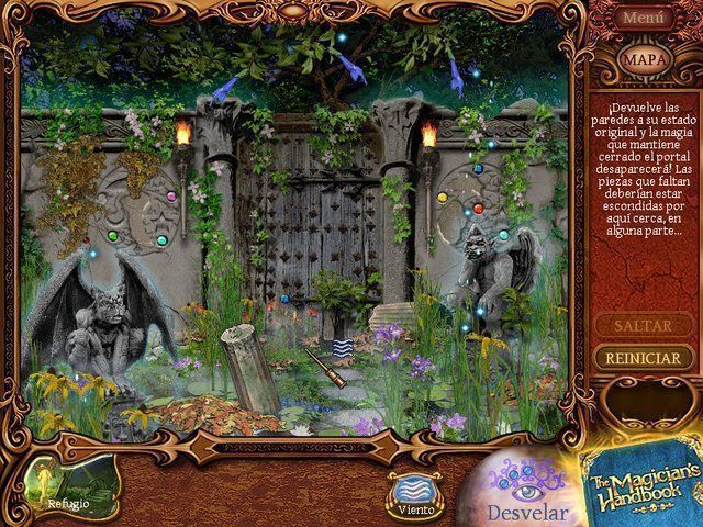 The Magician's Handbook 2. BlackLore en Español game