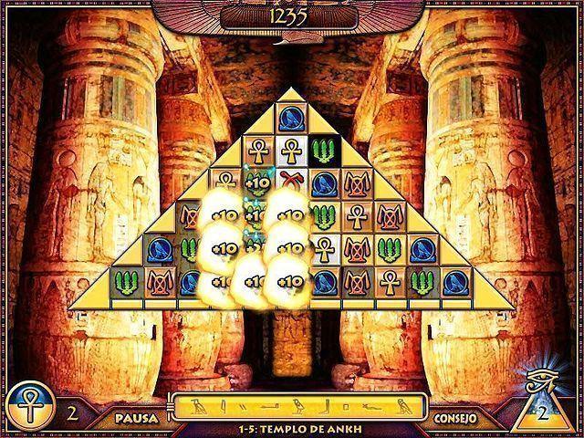 Treasure Pyramid en Español game