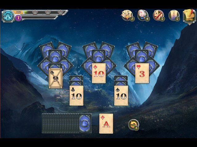Gioco Mystic Journey: Tri Peaks Solitaire download italiano
