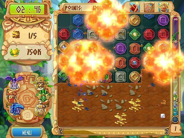 Gioco The Treasures of Montezuma 5 download italiano