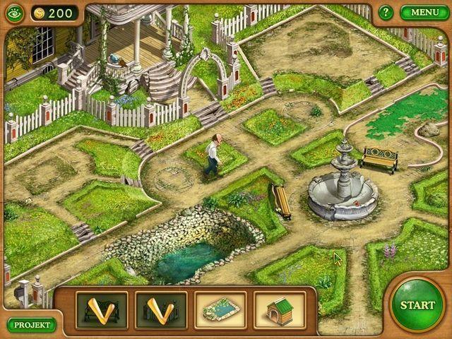 Любителей экономических игр может заинтересовать игра Дивный сад, в.